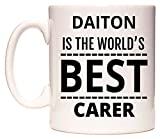 DAITON Is The World's BEST Carer Taza por WeDoMugs®