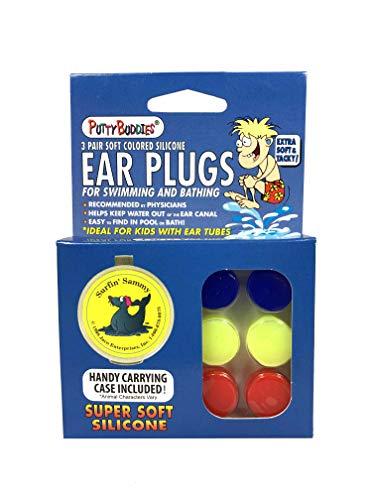 Putty Buddies (3er-Pack (Farbe kann variieren) (3er-Pack (9er-Pack), Lila, Pink & Blaugrün (nicht schwimmend))