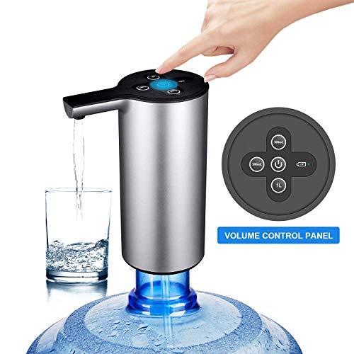 自动瓶装水泵与音量控制无线饮水机可充电加仑水水壶分配器泵