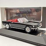Fábrica Original 1/43 For Mustang 1965 Convertible De Aleación De Simulación Modelo De Coche Colección Adornos Regalos Juguetes Artesanías (Color : 2)