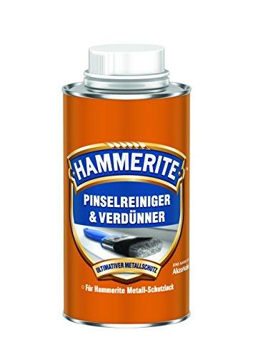 AKZO NOBEL (DIY HAMMERITE) 5087652 Reiniger Hammerite Pinselreiniger und Verdünner 0,250 L, farblos, 250ml
