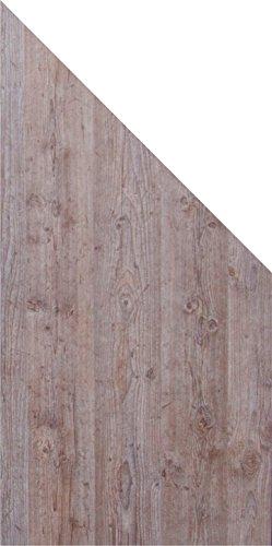 DesignFence 210793191000001 Zaun, Kalkeiche, 180 x 0,8 x 90 cm