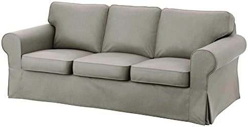 Best IKEA Ektorp 3 Seat Sofa Cotton Cover Replacement is Custom Made Slipcover for IKEA Ektorp Sofa Cover