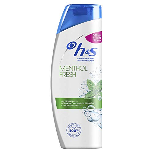 H&S Menthol Fresh Anticaspa Champú 360 ml