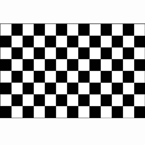 vlag Finish, formule1, racing, zwart wit geblokt