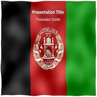 Afghanistan Flag Powerpoint Templates - Afghanistan Flag Animated Templates