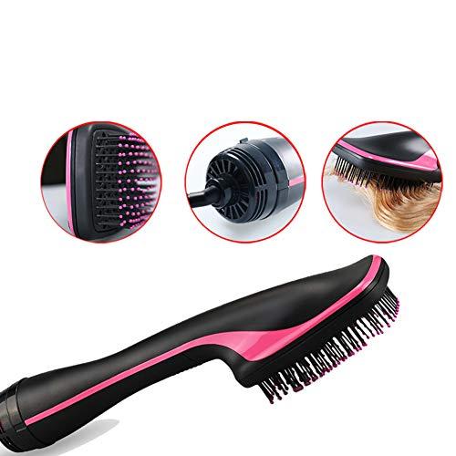 Électrique One-Step cheveux coup sèche peigne 2 en 1 multifonction humide et sec pour la maison ou voyage utilisation,Black