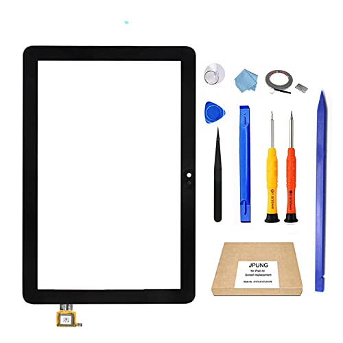 Original Glass for Kindle Fire HD 8 /HD 8 Plus Tablet 10th Generation 2020 K72LL3 K72LL4 Touch Screen Digitizer Replacement Digitizer Panel Front Glass Lens