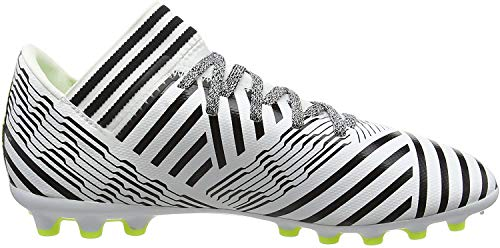 adidas Jungen Nemeziz 17.3 AG Fußballschuhe, Mehrfarbig (FTWR White/solar Yellow/core Black), 36 EU