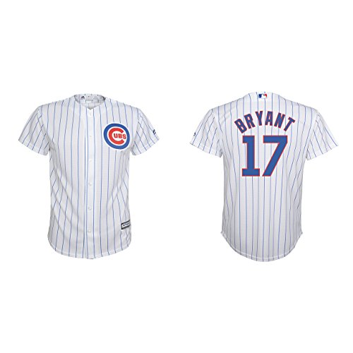 Kris Bryant Chicago Cubs Youth World Series Champions Cool Base White Replica Jersey (Medium 10/12)