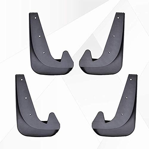 4 Piezas Faldillas antibarro Guardabarros, para Peugeot 207 108 205 206 207 306 307 308 405 406 407 508 Coche FaldóN Guardabarros Delanteras Traseras Embellecedores