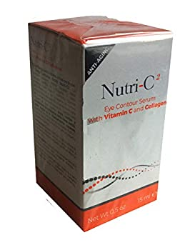 Nutri-Vitamin C Anti-Aging Eye Contour Serum with Collagen 0.5 oz
