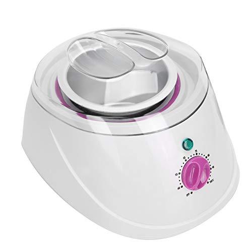 fuwinkr Calentador de Cera eléctrico Profesional, máquina de Cera para depilación, Bote de Cera para depilación con Kit de depilación con Temperatura Ajustable para Mujeres y Hombres(#1)