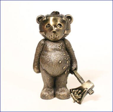 Bad Taste Bear JASON BRONZE