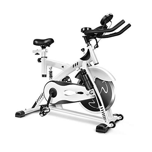 BZLLW Bicicletas estáticas de spinning, Bicicletas de ejercicios, bicicleta de ejercicio interior, bicicleta de ciclismo en bicicleta en bicicleta en bicicleta de ciclismo con monitor LCD y tableta So