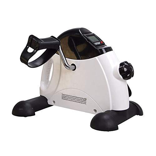 Candyana Elektrischer Mini-Heimtrainer mit digitalem LCD-Monitor und Fitnessgeräten für Senioren