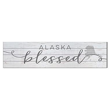 Kindred Hearts 40 x10  Alaska Shiplap Wall Sign