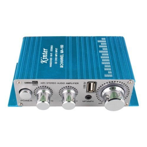 Kinter MA-160 Audio Amplifier, Utilizes a wide range of Power Supply Voltages