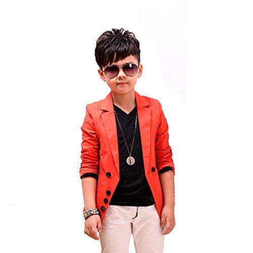 GETUBACK Boys' Fashion Blazers Casu…