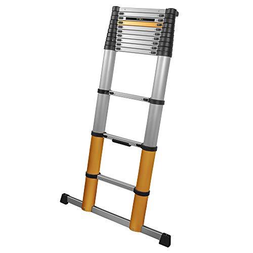 Batavia 7063088 aluminium telescopische ladder, werkhoogte (max. 4,6 m 3-kleurig 15,3 kg.