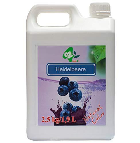 Sirup BoboQ Früchte Obst Für Bubble Tea Heidelbeere Boba Bobas 2,5kg 1900 ml