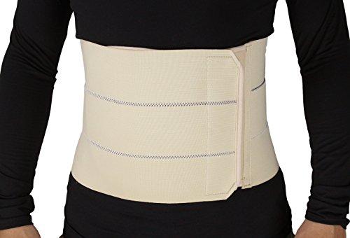 ObboMed® MB-2310NS Faja abdominal de 3 bandas (S: 56 – 86,3 cm/ 22 – 34 pulgadas) ⭐
