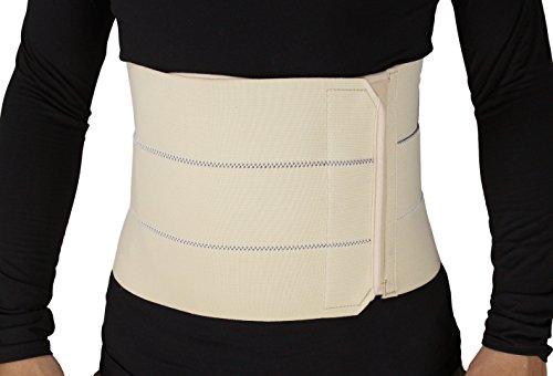 ObboMed® MB-2310NM 3- Panel Elastic Postpartum Girdle/Postoperative Abdominal Binder Belt, Injuries Support, Post Pregnancy, Post-Surgical, Hernia, Belly Wrap Brace–Trimming Waist (M:34 – 39 inches)