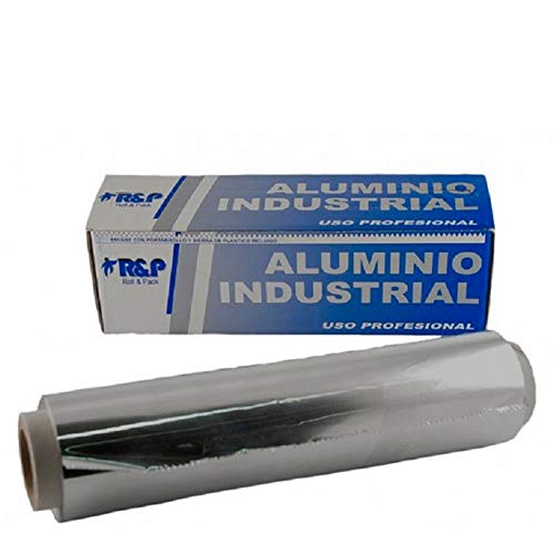 Rollo Papel Plata - Aluminio 300 metros