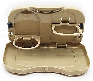 laoonl Table de salle à manger, table de pique-nique pliable en plastique pour siège arrière de voiture, support pour bois...