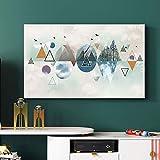 XIAOZHEN Tv Abdeckung Dreiecksgeometrie TV-Cover Staubschutz Hängen Computergehäuse (Color : BH32-10, Size : 40-43inch)