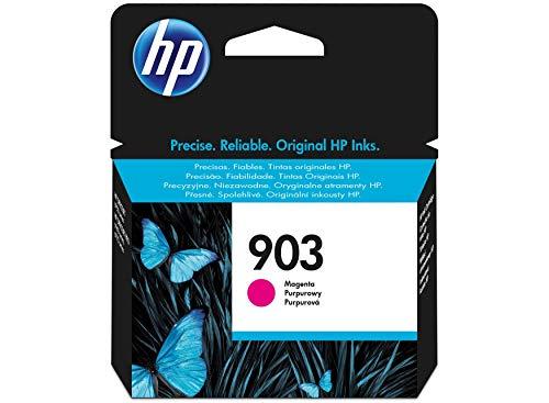 HP 903 T6L91AE Cartuccia Originale per Stampanti a Getto di Inchiostro, Compatibile con OfficeJet 6950, OfficeJet Pro 6960 e 6970, Magenta