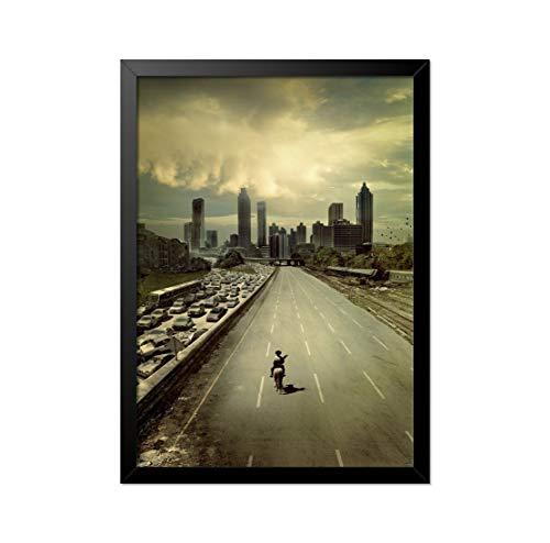 Quadro Poster The Walking Dead Início 33x23cm