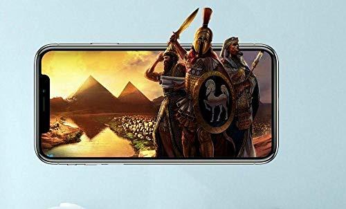 QAW Pegatinas de pared'Los adhesivos de pared de vinilo personalizados de Age of Empires se despegan, se adhieren a la habitación de los niños del juego'