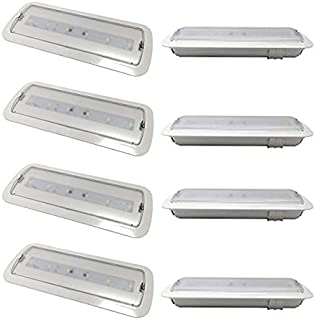 Pack 4 unidades de Luces de Emergencia Led de 3W. Incorpora