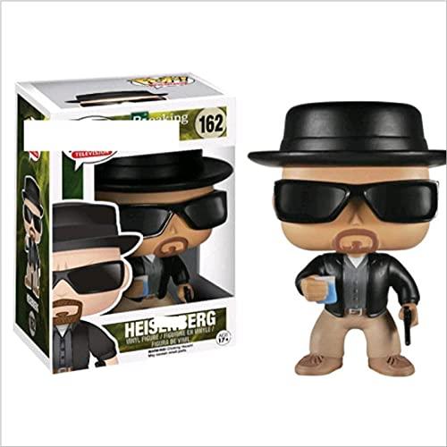 Pop Breaking Bad Heisenberg Saul Goodman Walter White # 162 con Caja Figura De Acción Juguetes Colección Modelo De Juguete para Niños