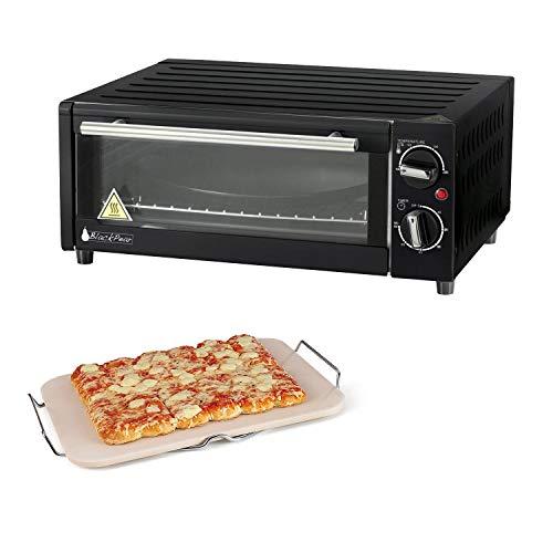 Set Pierre à pizza rectangulaire + FOUR Electrique SPECIA PIZZA - 1300W - BFO15