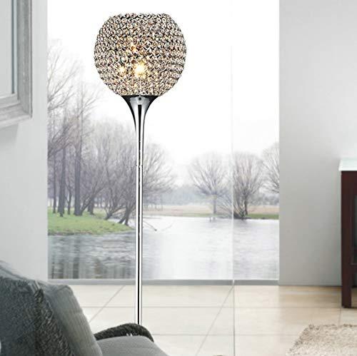 Allamp Lámpara de pie de cristal moderna Suppore LED E27 SCONCE Lámparas de cristal Foyer Lámparas Sombra Decoración for el hogar Luminaria FRFF / 0005 Luz de sala de estudio Utilizado en sala de esta