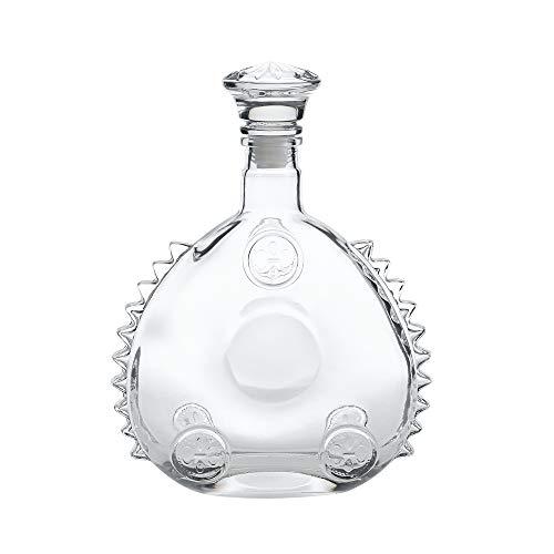 CHUN LING Bottiglia di Vino Vuota Louis XIII, Stile Anni '20 Cognac o Whisky, Decanter, Bottiglia di Vino in Vetro sigillato con Coperchio, Scultura in Ghiaccio da 750 ml