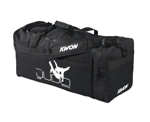 Kwon Trainingstasche Judo, schwarz, 48 x 24cm, 5016001