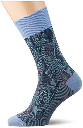 FALKE Herren Urban Jungle M SO Socken, Blau (Cornflower Blue 6554), 45-46 (UK 10-11 Ι US 11-12)
