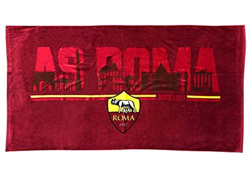 AS Roma | Telo Mare cm. 90x170 | Prodotto Ufficiale | 100% Cotone