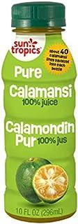Sun Tropics 100% Pure Calamansi Puree, 10 oz (3 Pack), Not From Concentrate, Citrus Juice