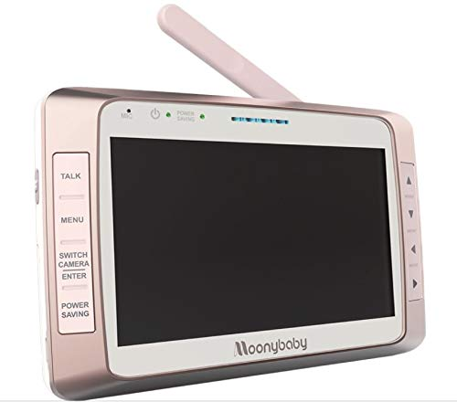Moonybaby Replacement Monitor for Trust 50 S and Trust 50 S-2 (MB55935S and MB55935S-2T) 5 Inches Monitor Unit