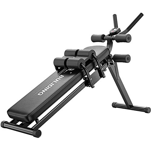 Foldable Sit Up Decline Abs Bench, Multi-Workout Bench, Sit Up Bench, Abdominal Exercise Equipment for Men and Women (US Shipping)