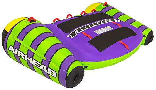 Airhead Thrust, 3 Rider Towable Tube, Green/Purple