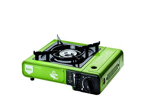 Cocina a gas portátil Dual Outer Start -Camping gas Elma - (Verde) 27.15.1