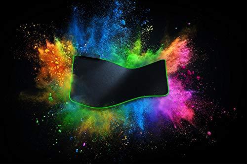 Razer Goliathus Extended ChromaAlfombrilla para juegos, Gaming Mouse Pad, Tamaño XXL, superfície suave con iluminación RGB, Negro