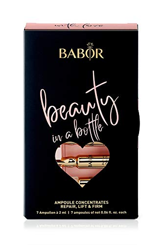 BABOR AMPOULE CONCENTRATES Beauty in a Bottle, 7-Tages-Ampullenkur, straffendes Serum, Regeneration & Anti-Aging, Geschenk, limitiert, 14ml