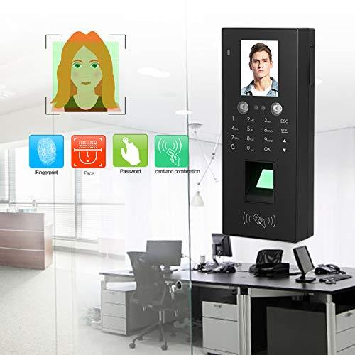Control de acceso, reconocimiento facial Tarjeta de huellas dactilares de cámara dual Control de acceso de asistencia Seguridad en el hogar Máquina integrada Disco U Descargar informe de
