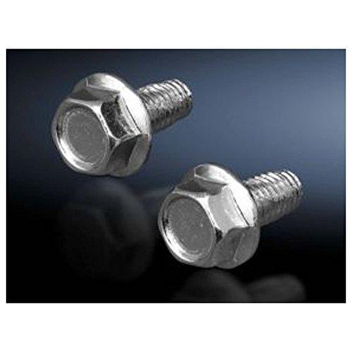 Rittal Sz 2504.000 10 mm 500pièce (s) M5 – Vis (Vis, plaque métal, M5, argent, 1 cm, 500 pièce (s))